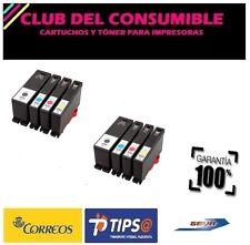 8 X CARTUCHOS COMPATIBLES LEXMARK 100XL NO OEM S 505 Pro 901 Pro 905 Pro 805