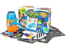 Crayola Deluxe Marker Airbrush Sprayer Like a Pro Ages 6+ New Toy Paint Colour