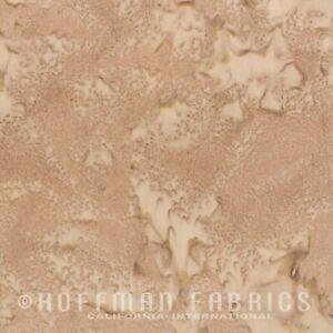 Hoffman 1895 Batik Watercolour Fabric 100% Cotton Rattan #516