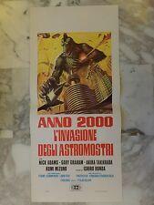 LOCANDINA Originale ANNO 2000 L'INVASIONE DEGLI ASTROMOSTRI Fantascienza Honda