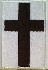 CHRISTIAN CROSS Iron-On Patch MC BIKER Christian Emblem