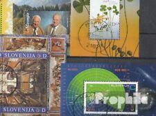 Slovenië 5 verschillende Blokken gestempeld