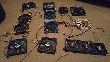 Computer Case Fans Mix - 80,92,120, &140mm - Corsair,Noctua,Fractal,Antec 14PCS