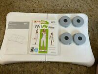 Wii Fit Plus With Balance Board tested works