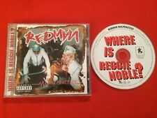 REDMAN MALPRACTICE WHERE IS REGGIE NOBLE?  CD ÉTAT BON