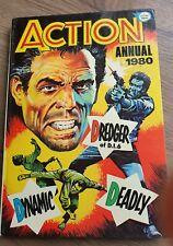 ACTION ANNUAL 1980 Fleetway FREE P&P Retro Old School British Comic Book