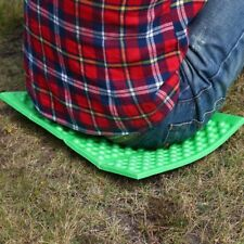 Outdoor Portable Foldable Foam Waterproof Garden Cushion Seat Pad Chair Green