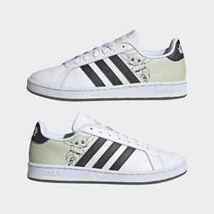 Adidas x Star Wars Mens Grand Court Shoes Baby Yoda Grogu DS Mandalorian Limited