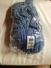 Rubbermaid Dura-Pro 4-ply Rayon Mop 24oz. Blue new!