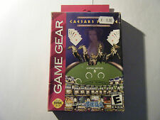 Caesars Palace - Sega Game Gear - US - Complet - Occasion