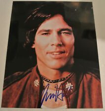 Young RICHARD HATCH Battlestar Galactica Actor Autographed Photograph DECEASED