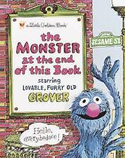 The Monster at the End of the Book: Sesame Street by Jon Stone (Hardback, 1971)