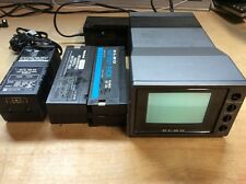 ELMO EM-10 MONITOR With Power Supply And Batteries / Charger