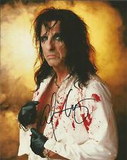 ALICE COOPER Signed 8x10 AUTOGRAPH Rock Legend Musician Poison