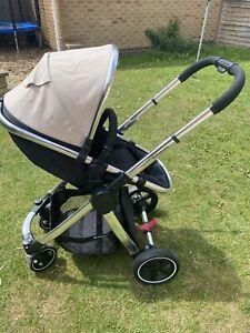Mothercare Journey Pram (No Straps) - Beige