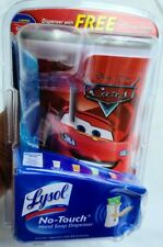 Disney Pixar Cars Lysol No Touch Hand Soap Dispenser, New Sealed