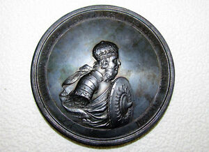 ANTIQUE RUSSIA EMPIRE Medal DECLARATION of WAR by SVYATOSLAV to GREEKS 971 year