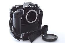 Nikon New FM2 FM2N BLACK 35mm SLR Film camera w/MD-12 Excellent+++ From Japan