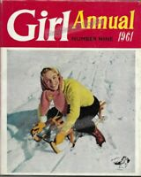VINTAGE BOOK: GIRL ANNUAL NUMBER  9 Edited by Clifford Makins (1961)