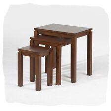 Cub Honey Hardwood Timber Nest of 3 Tables - BRAND  NEW
