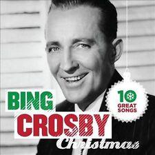 New: Bing Crosby: 10 Great Christmas Songs  Audio CD