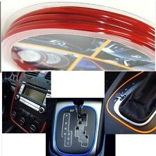 CAR DASH PARTS DECORATION TRIM MOULDING 4MM(W) X 5M(L) RED