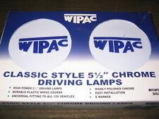 "Classic Mini Wipac 5.5"" Front Chrome Driving Spot Lights - pair"