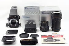 Mamiya RZ67 Pro II Medium Format w/AE PRISM FINDER II,50mm,100-200mm from Japan