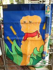 M35 Large Nylon Yellow Lab Labrador Retriever Dog Flag 28 X 40 Originag Package