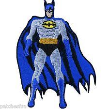 Batman Logo Superhero DC Comic Cartoon Bat Kids Children Iron on Patches #0658
