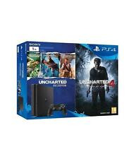 Ps4 Slim Uncharted 4 Sony 9896050 1 TB