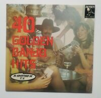 MAURICE BOLYER / 40 GOLDEN BANJO HITS    12''  VINYL LP CPB 1901 EX/EX