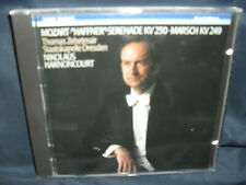 "Mozart – ""Haffner Serenade"" KV 250 / Marsch KV 249 -Zehetmair / SD/ Harnoncourt"