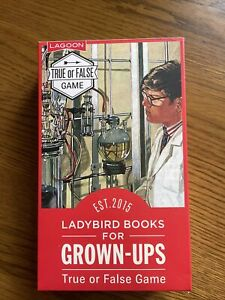 LADYBIRD BOOKS FOR GROWN-UPS TRUE OR FALSE CARD GAME VERY GOOD CONDITION