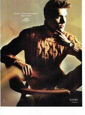 PUBLICITE ADVERTISING 126  2011  pull tricot homme par Hermès