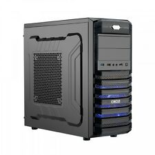 CIRCLE GAMING PC CABINET CC-815 Black