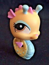 Littlest Pet Shop  LPS  Seahorse #1485 Brown Circle Eyes