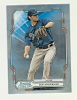 2019 Bowman Sterling #BSR-27 IAN ANDERSON RC Rookie Atlanta Braves QTY AVAILABLE
