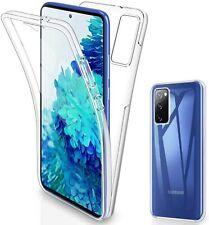 """Pour Samsung Galaxy """"S20 FE"""" Coque Gel avant + Arrière 360 Protection INTEGRAL"""