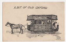 A Bit of Old Oxford, Horse Tram, Davis Postcard, B289