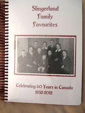 Slingerland Family Favourites Cookbook  - - NEW - - HUGE - - 1952-2012 Danish