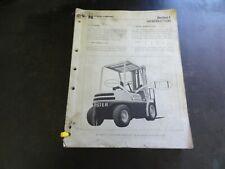 Hyster H30H H40H H50H H60H Forklift Service Manual