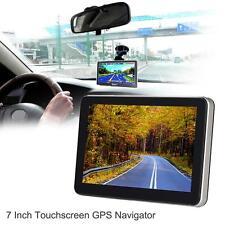 7'' Automobile Portable GPS Car Truck Touch Navigator Sat Nav Navigation System