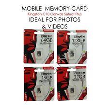 £4.99 💯 tf micro 163264128 gb mini sd sdhc card 32 64 128 GB KINGSTON sanDisk