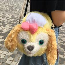 Hong Kong disney Disneyland Cookie dog Doll plush duffy friends Bag
