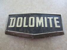 Original Triumph Dolomite car badge