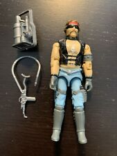 Vintage 1985 GI Joe Cobra Dreadnok Torch Action Figure w/Accessories