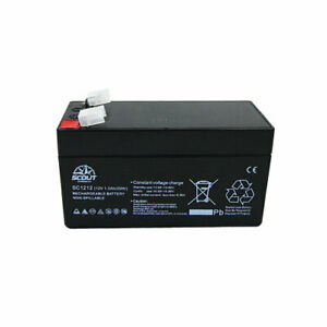 Scout Battery (Small) 1.2 Ah 12v Sealed Lead Acid Rechargeable
