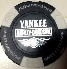 Harley Poker Chip   YANKEE HD       BRISTOL, CT      BLACK