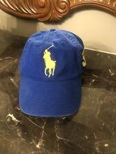 Last One! NWT POLO Ralph Lauren Big Pony #3 Baseball Hat - Sapphire Blue